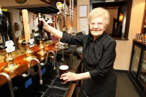 http://www.thesun.co.uk/sol/homepage/news/3816098/Dolly-97-is-oldest-barmaid-in-the-world.html