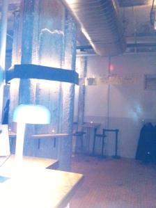 L'entrée du Furco, vue du bar
