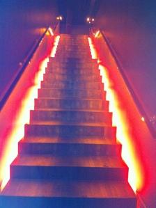 Ah cet escalier....