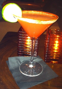 Ma Margarita à l'orange sanguine !!!