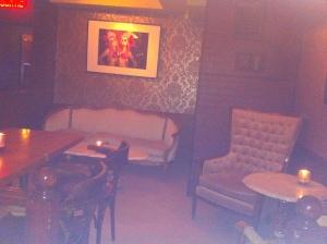 La salle...ambiance Speakeasy