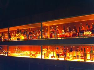 L'arrière du bar