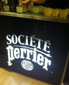 Le bar Perrier...