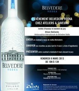 Belvedere contest chez Ateliers & Saveurs
