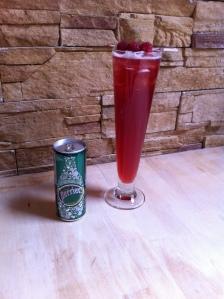 Tadam... et voici mon cocktail le Red Pale !!!