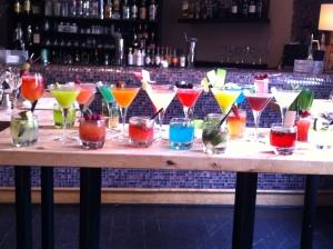 hum.... un éventail des cocktails créations de cet été !!!