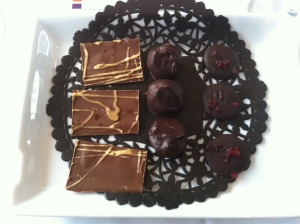 Les chocolats !