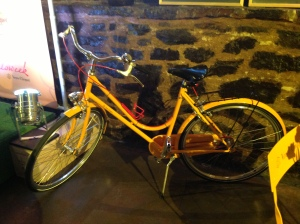 Yellow Bicyclette