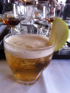 le cocktail d'arrivée...