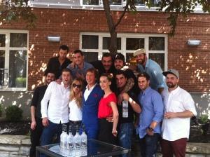 Les participants du Grey Goose Pour Master 2013 !