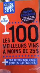 Le Guide Aubry 2014