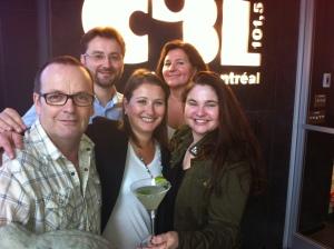 La photo avec nos invités du jour ....Cheers !