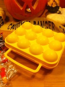 Une boite d'œufs....