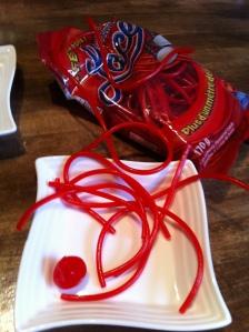 bonbons lacets