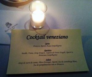 les 3 cocktails proposés pour cette soirée ...
