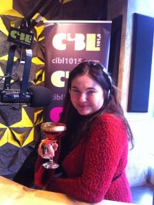 Également sur le plateau radio de l'émission Plaisirs Gourmands à CIBL
