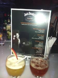 Nos délicieux cocktails ....