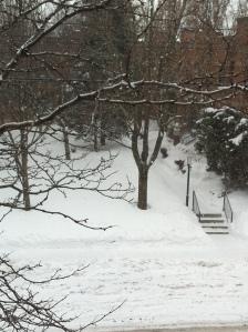 Ah....la neige qui tombe, tombe, tombe !!!!