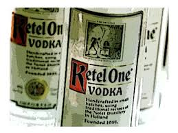 La Vodka Ketel One...