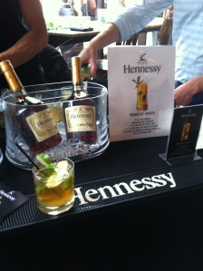 Le bar Hennessy...