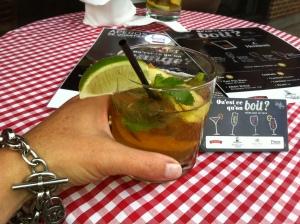 Cheers avec mon Hennessy Ginger .....