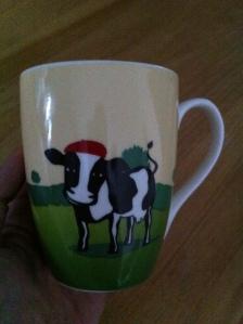 Mon mug St Rémy à la crème....