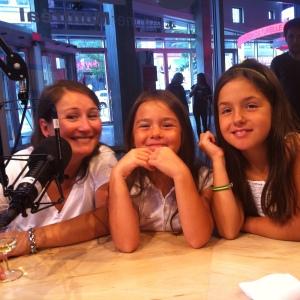 En compagnie de mes 2 grandes filles, Inès & Lily