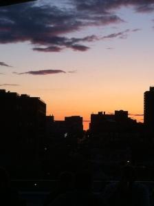 Quel magnifique coucher de soleil.....