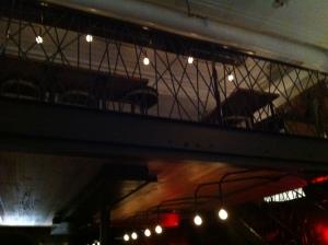 la mezzanine...