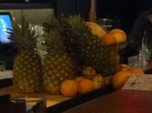 les fruits frais...