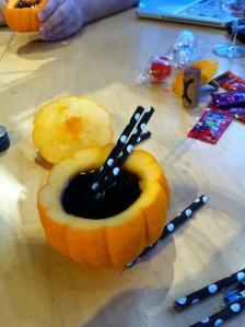Tadam...mon cocktail Potion Noire....