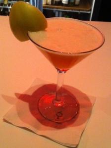 Fresh Sake Martini ...