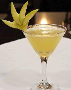 Le cocktail Fresh Sake Martini quand je l'avais créé....