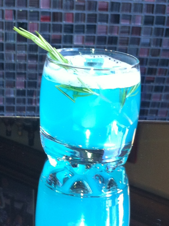 Mon Cocktail...Bleue Tropicale !