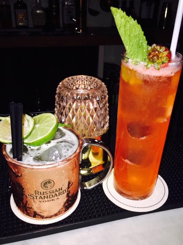 Tadam..... Et voici donc nos cocktails....