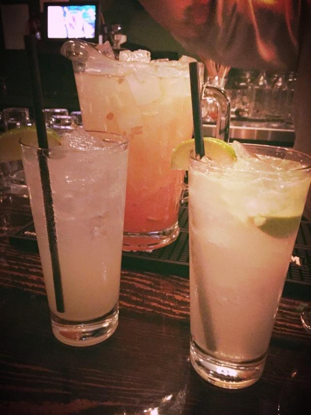 Nos cocktails.....