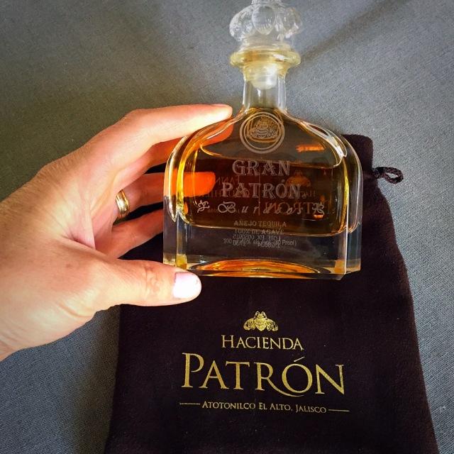 Ma bouteille de Tequila Gran Patròn Burdeos ....