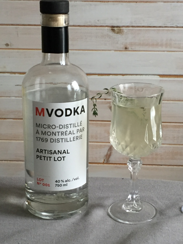 Mon cocktail .... J'MVodka !