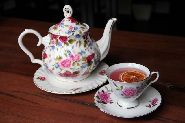 Long After Tea ...